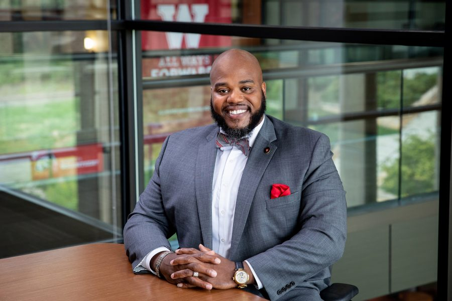 portrait of diversity and inclusion director lavar charleston