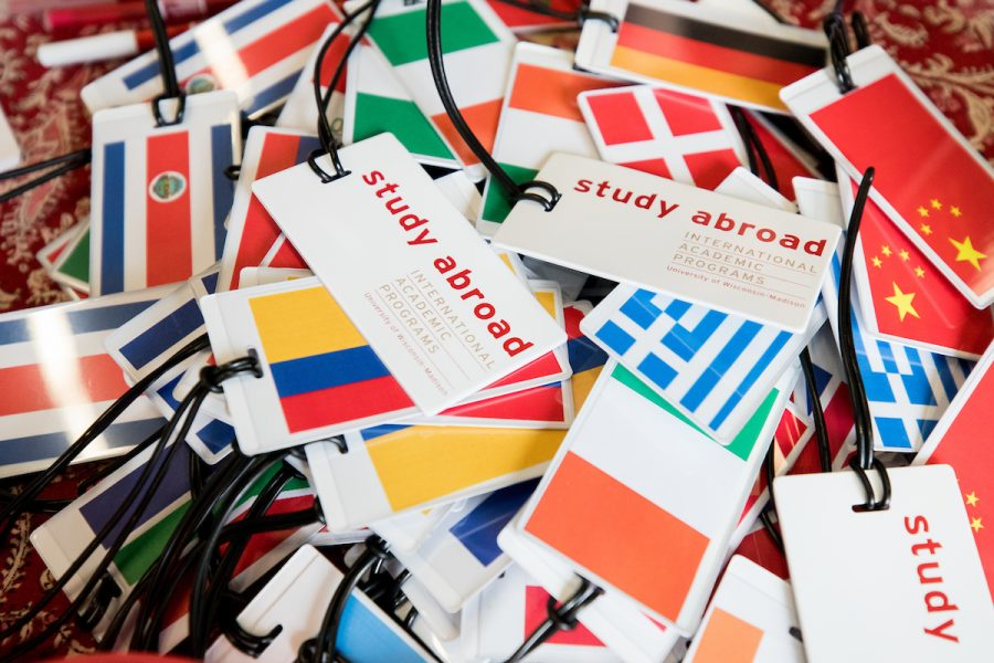 study abroad luggage tags