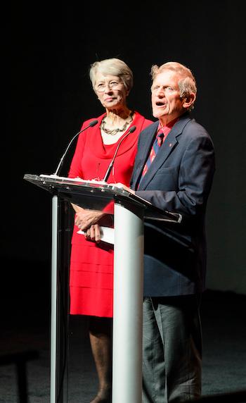 Tashia and John Morgridge