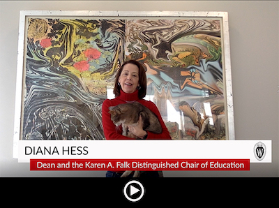 Diana Hess Video Message March 30, 2020