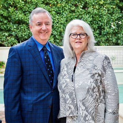 Photo of Karen and Tom Falk