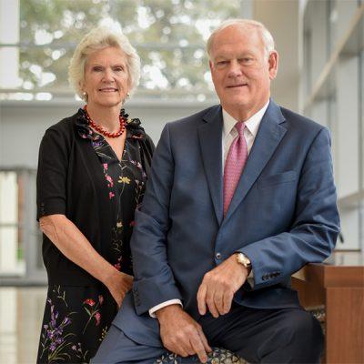 Photo of Jim & Georgia Thompson