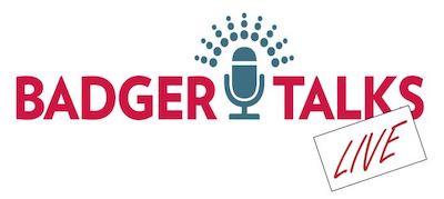 Badger Talks Live logo