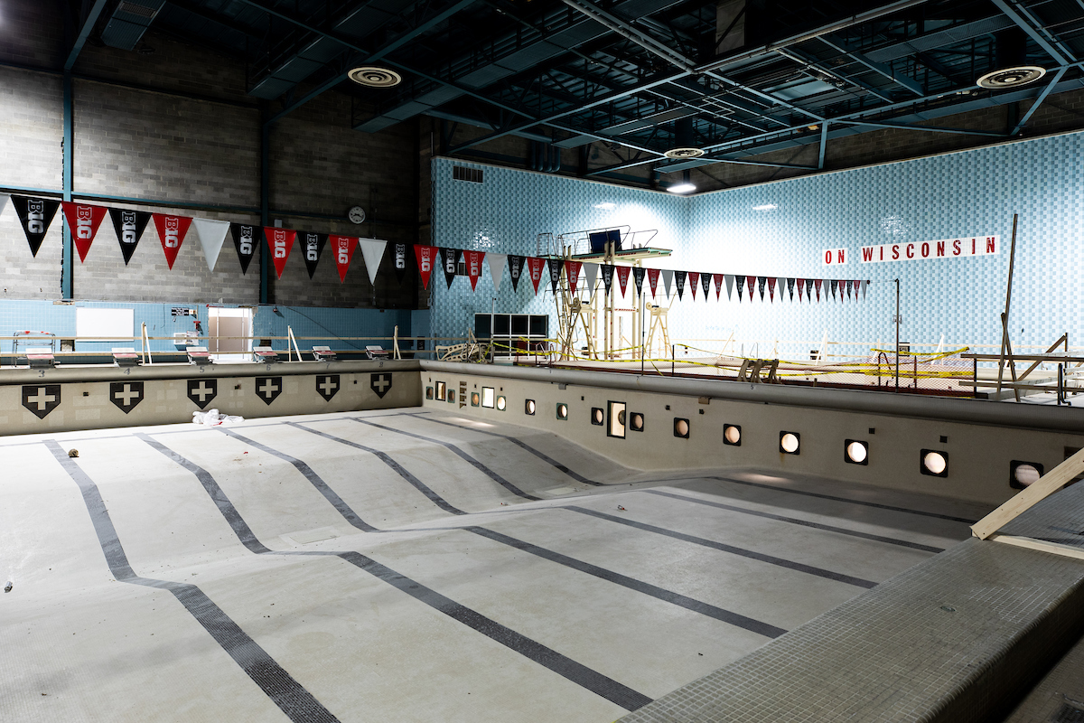 empty Natatorium pool