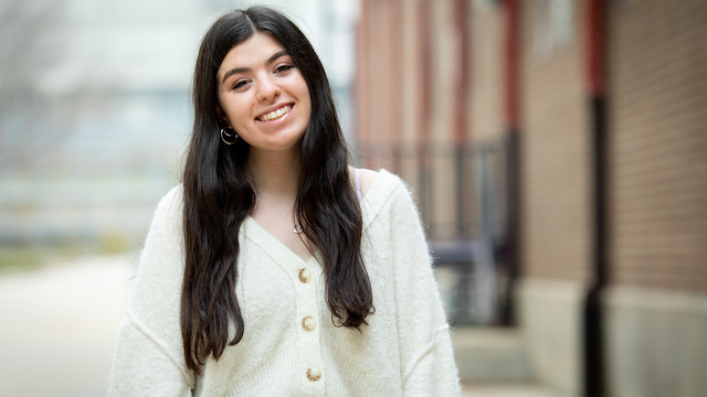Student Madison Sherman
