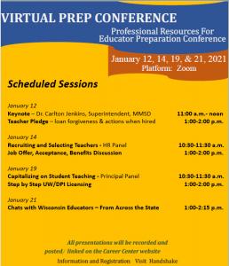 PREP Conference flyer