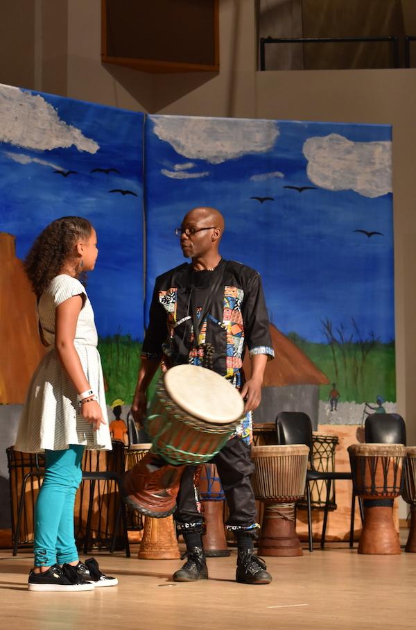 Yorel Lashley presents during Drum Power
