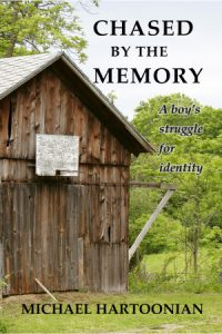 """""""Chased by the Memory"""" book cover"""