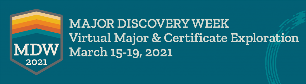Majors Discovery Week Banner