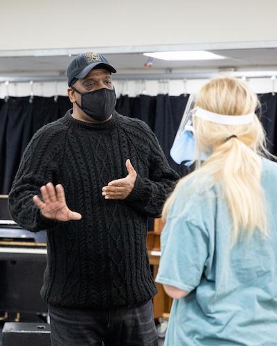 Baron Kelly teaching