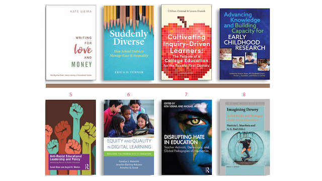 School of Education bookshelf