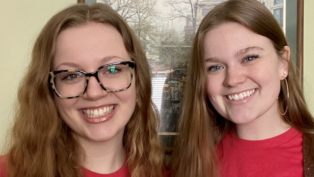 Mullen sisters take Teacher Pledge