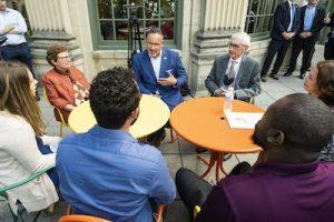 Cardona meets with School of Education