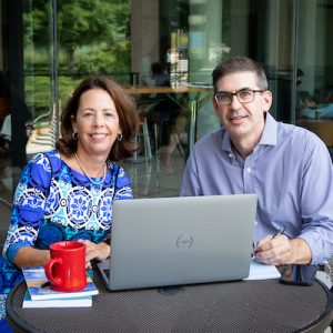 Dean Diana Hess and Jeremy Stoddard