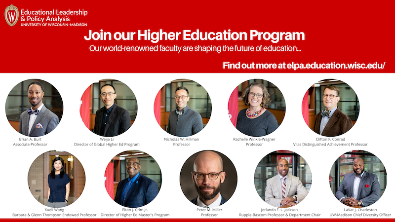 Higher Education Program faculty